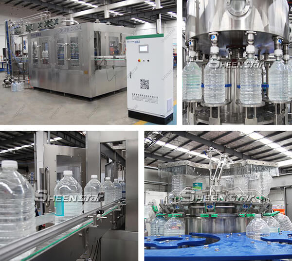 5L-15L big plastic bottle water filling machine with 2000BPH