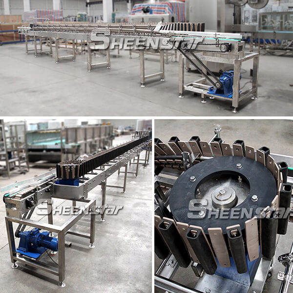 High Capacity Bottle Tumbling Machine