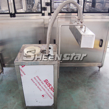 Cap label shrink machine for 20 Ltr Water Jar Filling Machine